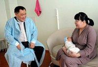 Первый ребенок 2013 года в Туве родился в семье молодых кызылчан