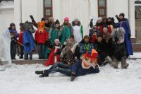 В Хову-Аксы в праздновании Рождества принимают участие народные коллективы