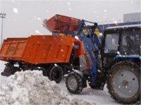 Кызыл. Борьба со снегом с переменным успехом