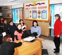 Полицейские разгадывали тувинские народные загадки,  посвященные Шагаа
