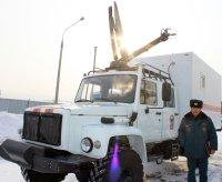 Автопарк тувинских спасателей пополнился двумя спецавтомобилями для реагирования на ЧС