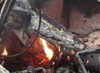 В Кызыле сгорели четыре автомобиля