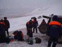 В Туве приостановлены спасательные работы из-за ухудшения видимости