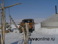 Власти Тувы простимулируют строительство зимних чабанских стоянок