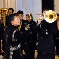 Тимур и его команда. Духовой оркестр правительства Тувы отметил 5-летие