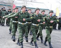 Кадеты Тувы заняли 1-е место во всероссийском сборе кадетских корпусов