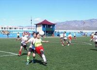 Байтайгинские школьники - сильнейшие футболисты Тувы