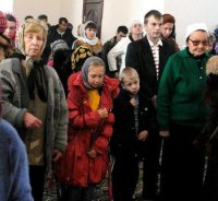 Христиане Тувы празднуют Пасху