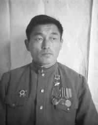 Тувинский танкист, Герой Советского Союза Хомушку Чургуй-оол