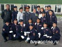 Победителем слета отрядов «Юный друг полиции» стала команда «ОМОН» Кызылского кожууна