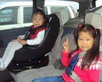В Туве в ДТП пострадало 9 детей, перевозимых без детского кресла