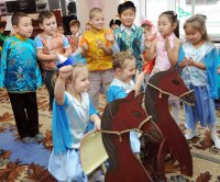 В Туве в этом году сдадут детский сад в п. Сарыг-Сеп