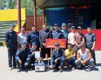 Тандинские добровольцы-пожарники 2-й раз побеждают на республиканских соревнованиях