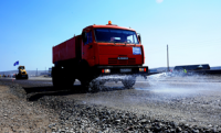 Завершается первый этап реконструкции главной трассы между столицей Тувы и пригородным поселком