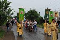 В Кызыле прошел Крестный ход, посвященный 1025-летию Крещения Руси