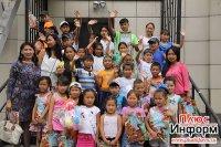В Туве завершается сезон мобильных площадок – детских дворовых лагерей
