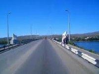 На Коммунальном мосту Кызыла отремонтированы светильники