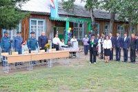 В селе Ак-Дуруг Чаа-Хольского кожууна Тувы открылся кадетский класс «Юный спасатель»