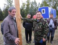 В Пий-Хемском районе Тувы началось строительство маральника на 700 голов племенных животных