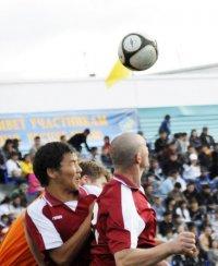 Команда «Сбербанк» впервые выиграла Кубок Республики Тыва по футболу