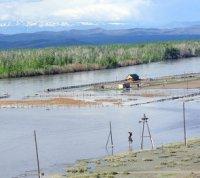 Тувинский поселок, постоянно подпадающий в зону затопления в период паводка, переносят на более возвышенное место