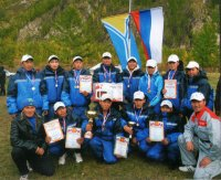 Студенты Тувинского политехнического техникума оказались сильнейшими на турслете ссузов Тувы