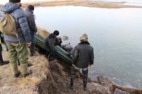 Водолазы обнаружили в реке Хемчике тело женщины, погибшей в ДТП