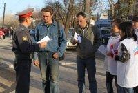 """Полицейские и молодогвардейцы провели в Туве акцию """"Не дай себя обмануть"""""""