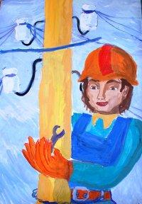 Школьники Тувы рисуют плакаты на тему энергобезопасности
