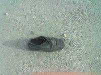 В Кызыле преступника нашли по потерянному ботинку
