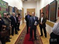 В Москве открылась выставка работ тувинского художника Шоя Чурука