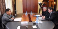 Глава Тувы проводит серию встреч с руководителями крупных промышленных предприятий