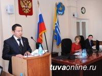 Депутаты горхурала во второй раз доверили Владиславу Ховалыгу руководство мэрией Кызыла