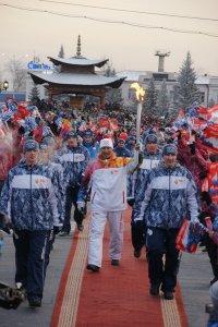 Школьники Тувы об Эстафете Олимпийского огня