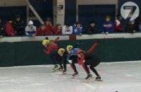 В Туве впервые прошли соревнования по шорт-треку