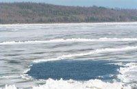 Теплое начало зимы в Туве отодвинуло открытие ледовых переправ