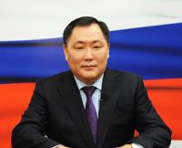 Глава Тувы поздравил жителей республики с 20-летием Конституции России