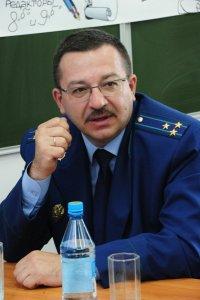 Прокурор Тувы Александр Гринев стал «генералом»