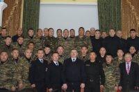 В командировку на Северный Кавказ отправился отряд тувинской полиции