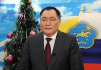 Глава Тувы поздравил жителей и гостей республики с Новым годом!