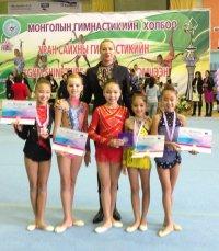 Тувинские гимнастки впервые участвуют в первенстве Сибири