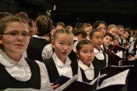 10 школьников из Тувы споют на закрытии Олимпиады в Сочи в составе Тысячного Детского хора России