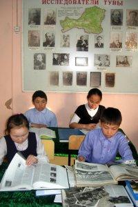 Школьники Тувы участвуют в проекте «100 открытий и находок»