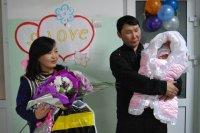 «Билайн» подарил счастливые минуты первым в юбилейном году мамам Кызыла