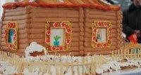 В Туве на широкую Масленицу воздвигнут 100-килограммовый блинный «дом»