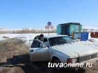 "В Туве резкое таяние снега, проводится операция ""Тонкий лед"""