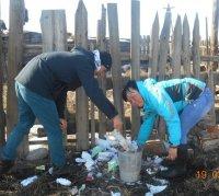 В добровольческую эстафету «100 добрых дел» включается все больше школьников Тувы
