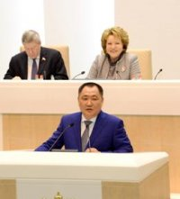 Валентина Матвиенко: Совет Федерации просто не может подвести Туву