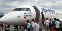 Первым авиарейсом по маршруту Иркутск-Кызыл-Иркутск воспользовался министр транспорта Иркутской области