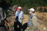 Поздравление Главы Тувы и спикера Верховного Хурала с Днем геолога